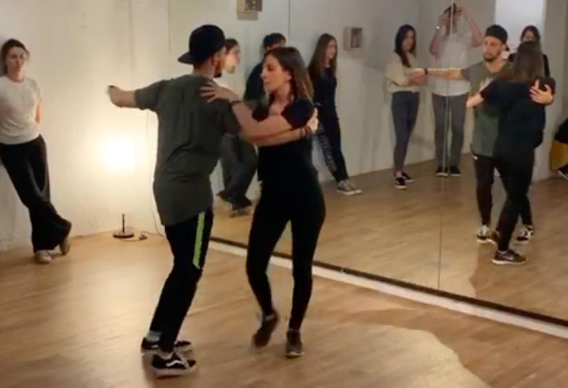 el mejor profe de salsa cubana Barcelona en la academia de danza BCN Baila